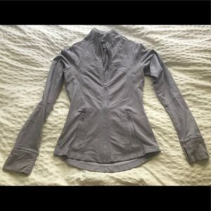 Lavender/Grey Lululemon Define Jacket- Size 2